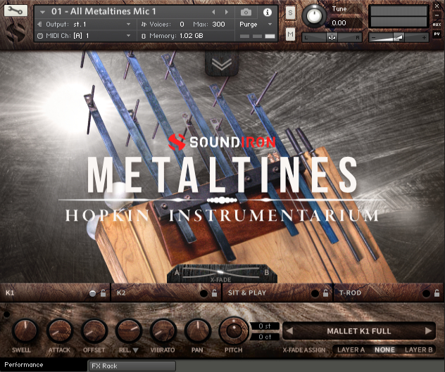 Hopkin Instrumentarium: Metaltines