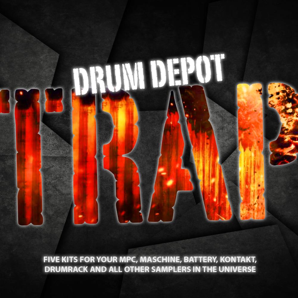 Drum Depot: Trap - Five drumkits