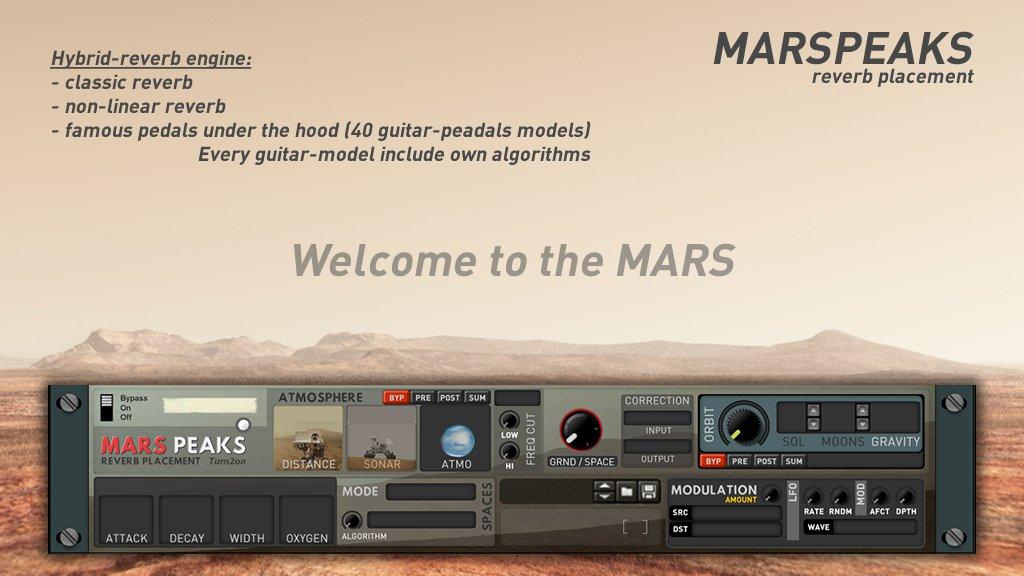 MarsPeaks Reverb Placement