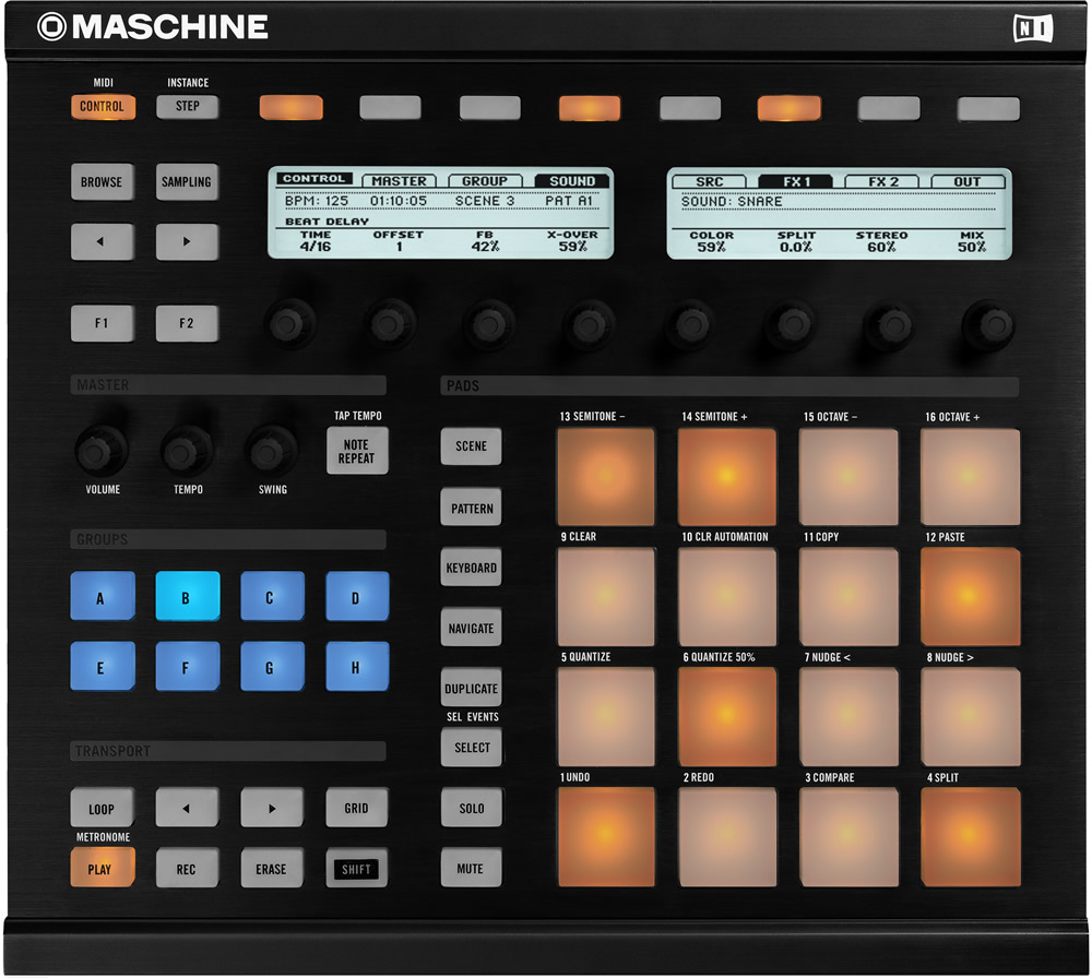 KVR: Maschine by Native Instruments - Groove Box VST Plugin