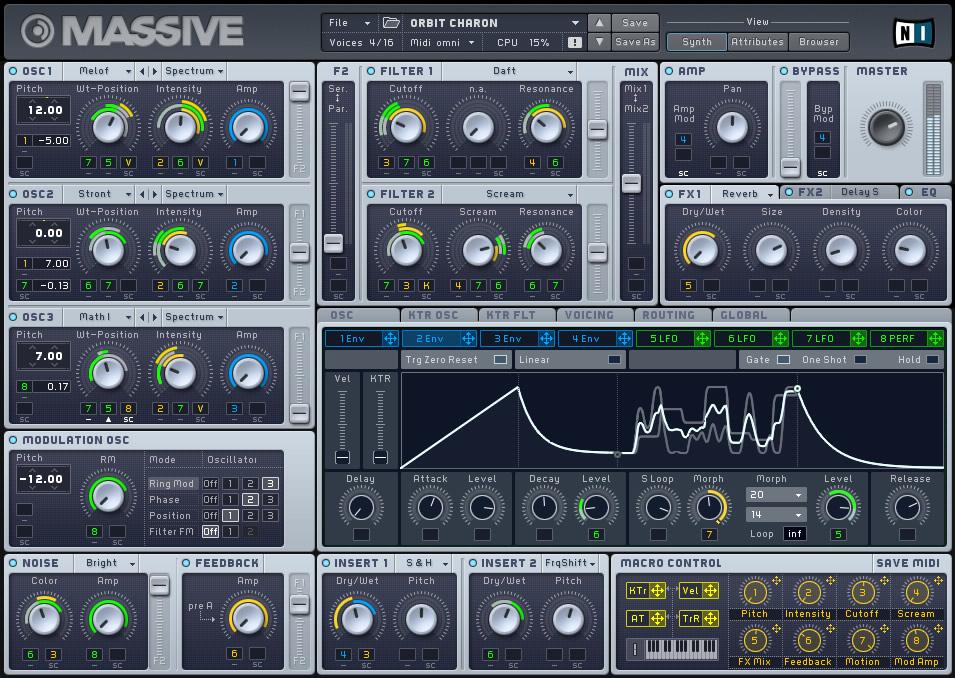 KVR: Massive by Native Instruments - Synth (Hybrid) VST