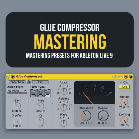 Glue Compressor: Mastering Presets