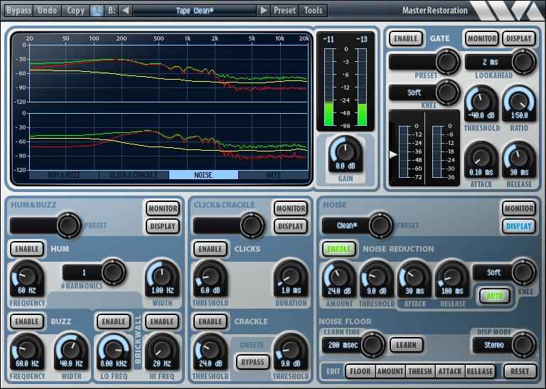 KVR: Master Restoration Suite by Wave Arts - Noise Removal