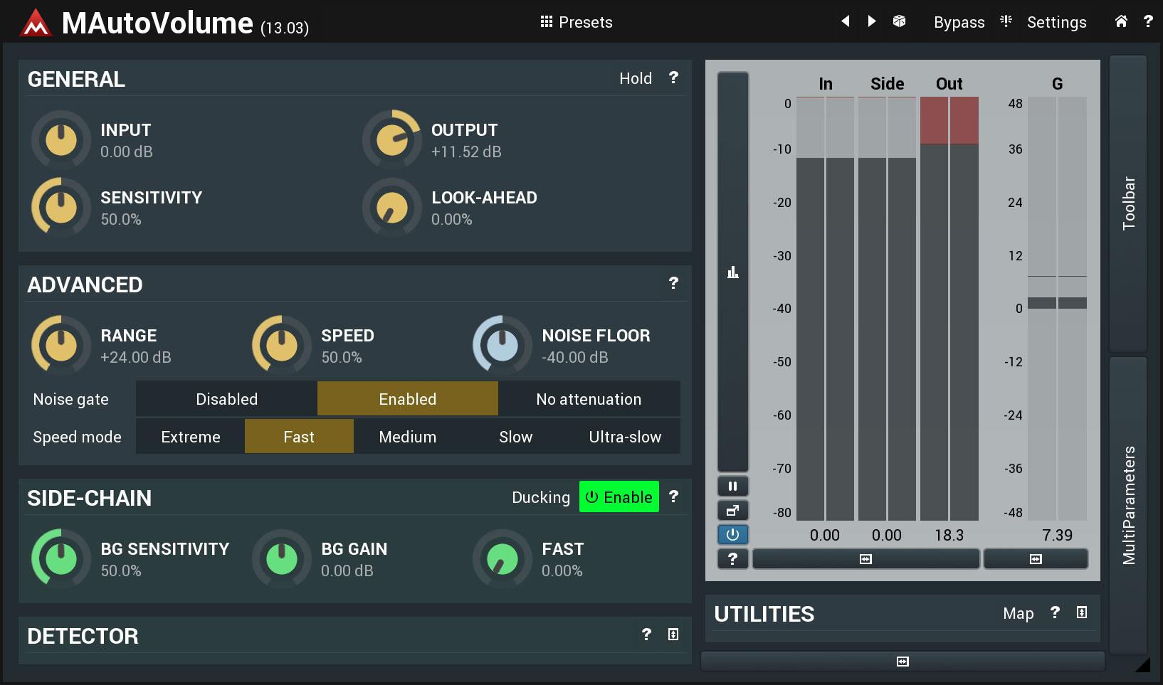 KVR: MAutoVolume by MeldaProduction - Dynamics VST Plugin, Audio