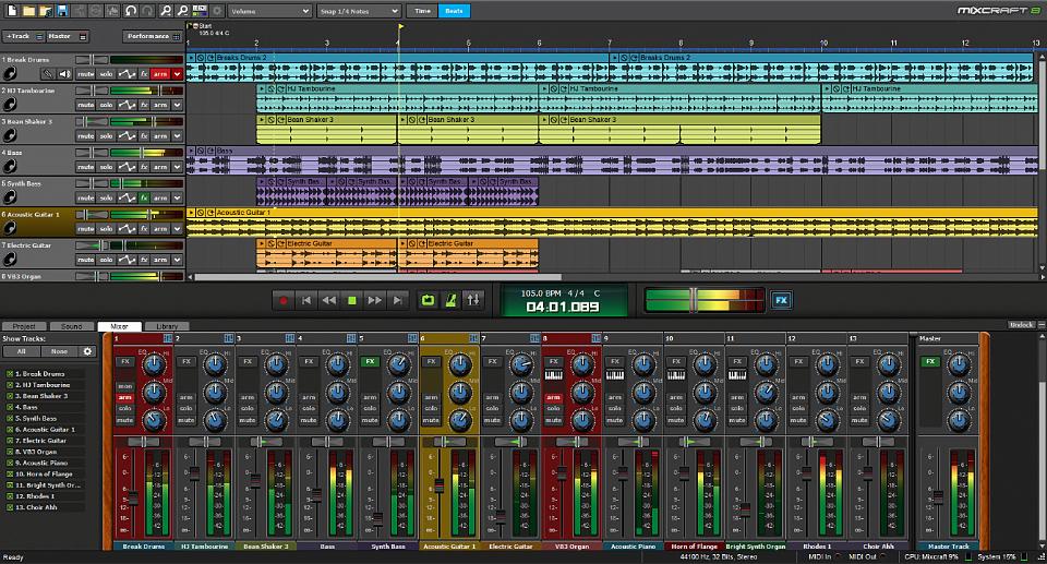Mixcraft Recording Studio