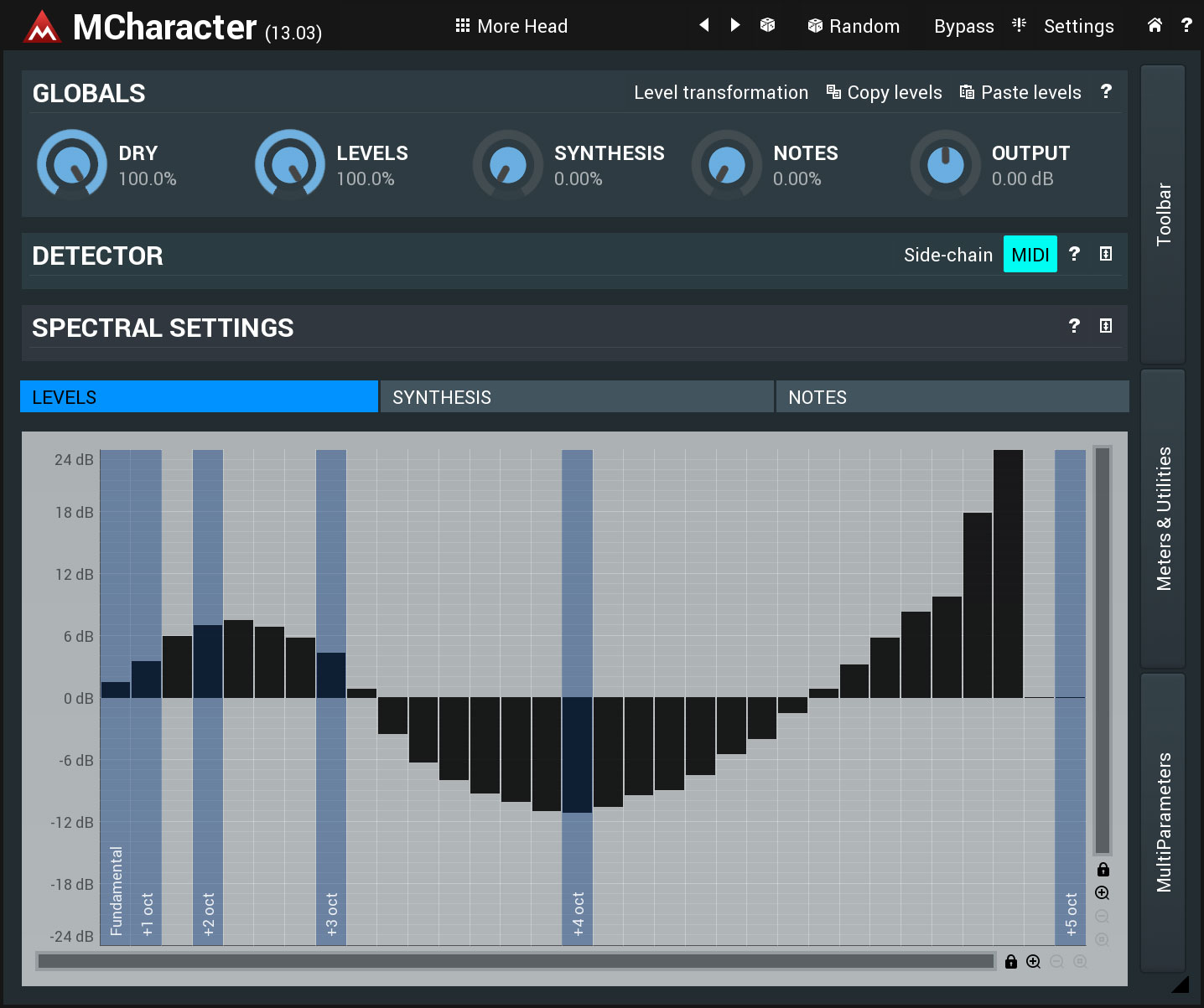 KVR: Buy MeldaProduction MCharacter at the KVR Marketplace (Enhancer)
