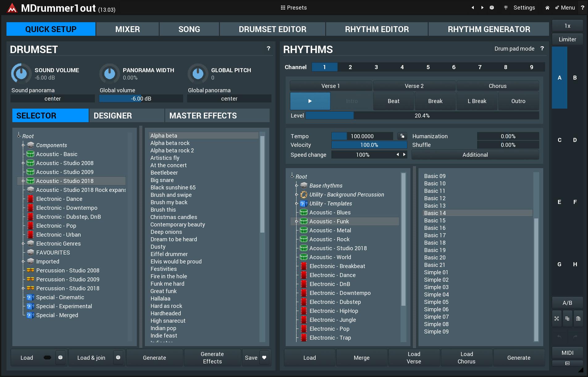 KVR: MDrummer by MeldaProduction - Drum Kits VST Plugin