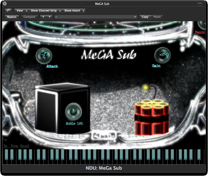 Nova Drum Unit: MeGA Sub