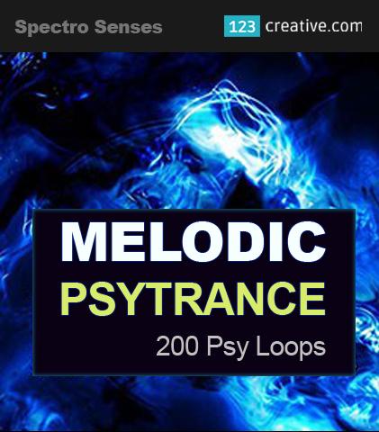 Melodic Psytrance Loops Vol.1: 123creative.com