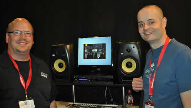 Bryan Lanser from Muse R&D with Ben