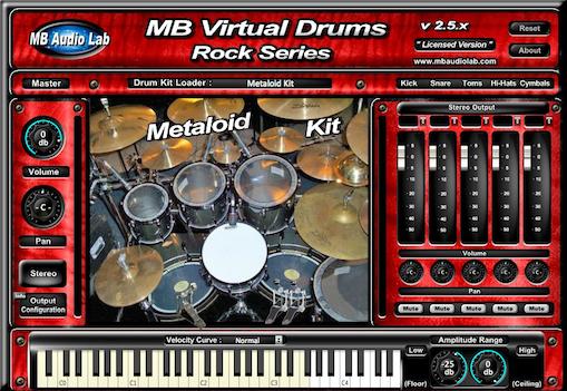 KVR: MB Virtual Drums Rock Series by MB Audio Lab - Drums