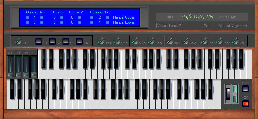 MIDI Style ORGAN