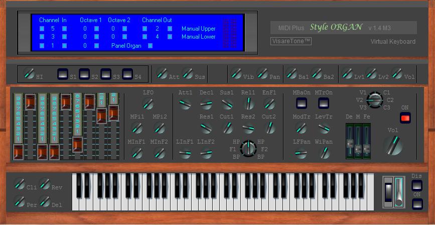 MIDI Plus Style ORGAN
