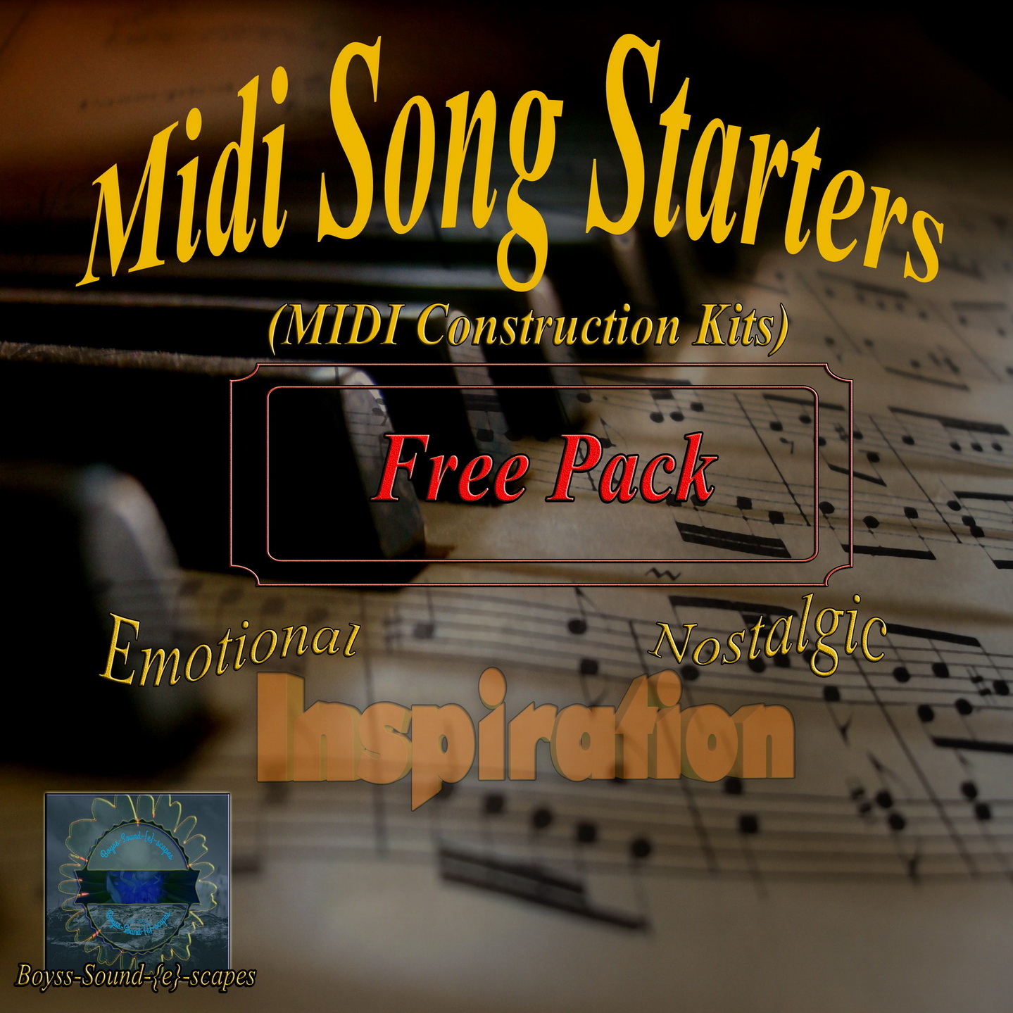 KVR: Midi Song Starters free Edition (MIDI Construction Kit