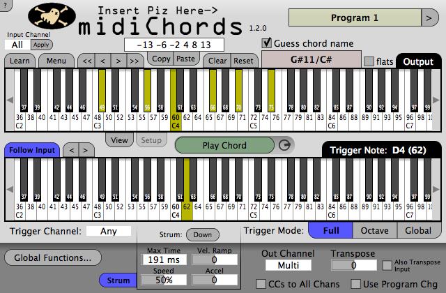 Kvr Midichords By Insert Piz Here Midi Chorder Vst Plugin