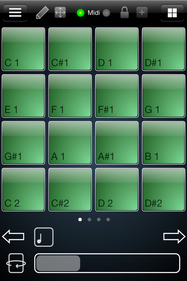 MidiPads for iPhone