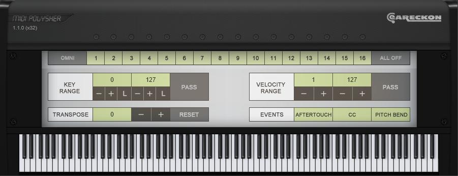 KVR: MIDI Polysher by eaReckon - MIDI Effect VST Plugin