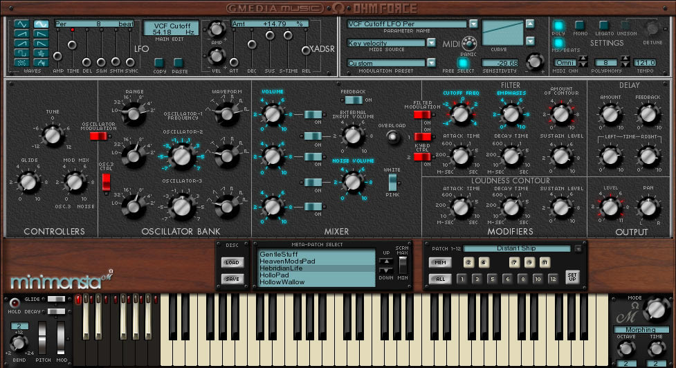 Download Gforce Minimonsta VSTi RTAS v incl. Keygen-AiR AudioZ