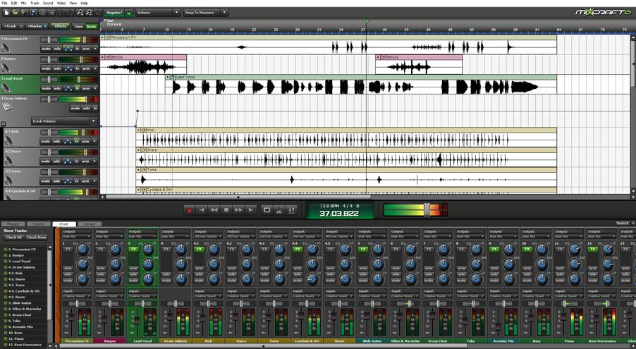 KVR: Acoustica releases Mixcraft v6.0