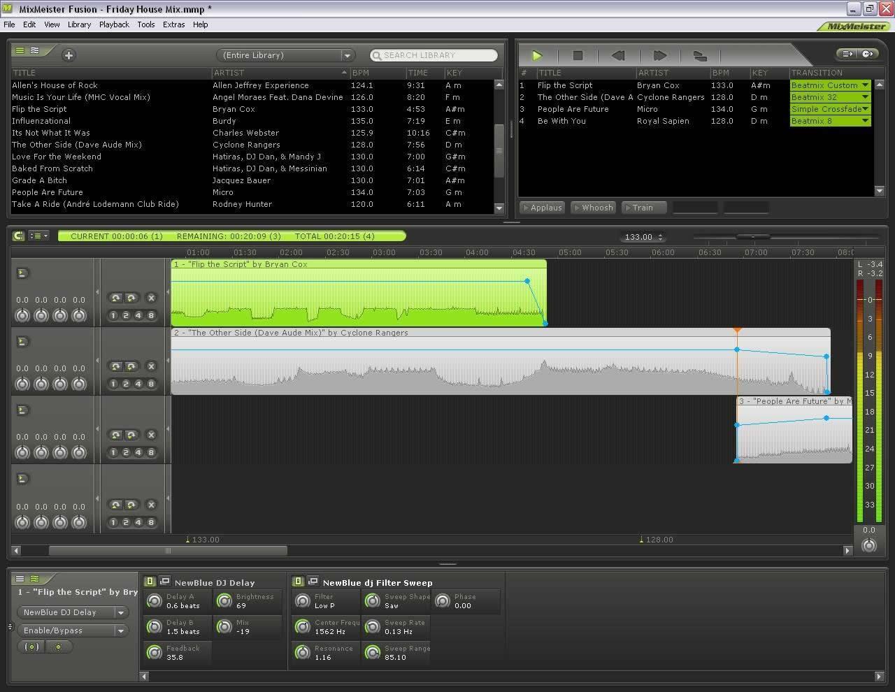 MixMeister Studio / Fusion