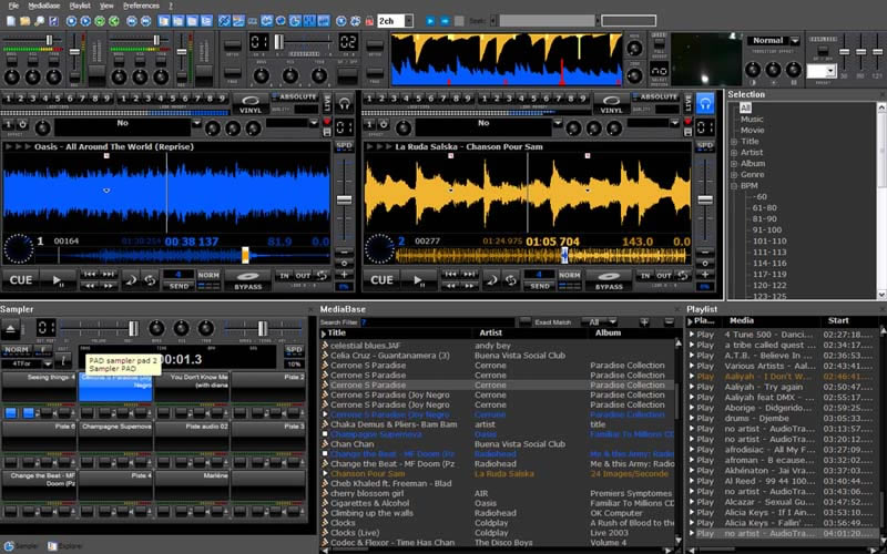 KVR: MixVibes by Mixvibes - DJ Tool