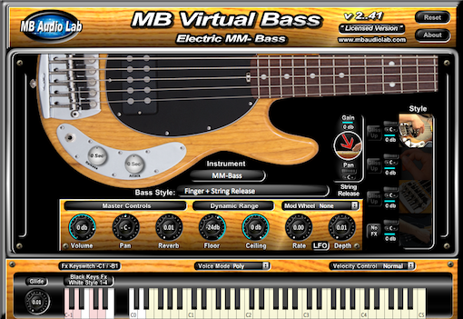 kvr mb virtual bass electric by mb audio lab bass vst plugin and audio units plugin. Black Bedroom Furniture Sets. Home Design Ideas