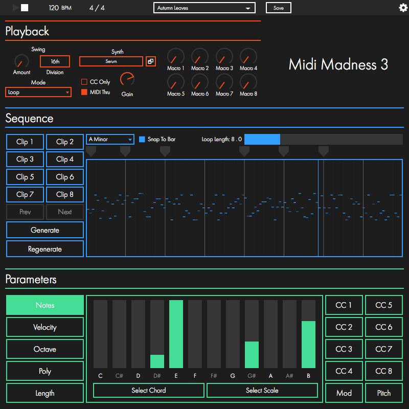 KVR: MIDI Madness by Midi Madness Software - Algorithmic
