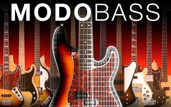KVR: MODO Bass by IK Multimedia - Virtual Bass Guitar VST