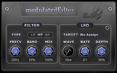 modulatedFilter