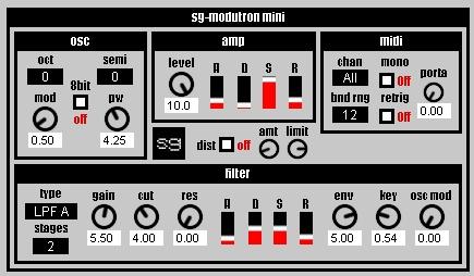sg-modutron mini