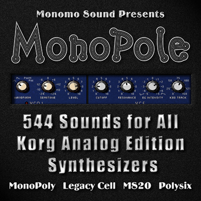MonoPole Soundset for Korg Analog Edition