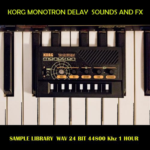 Korg Monotron Delay Sample Library