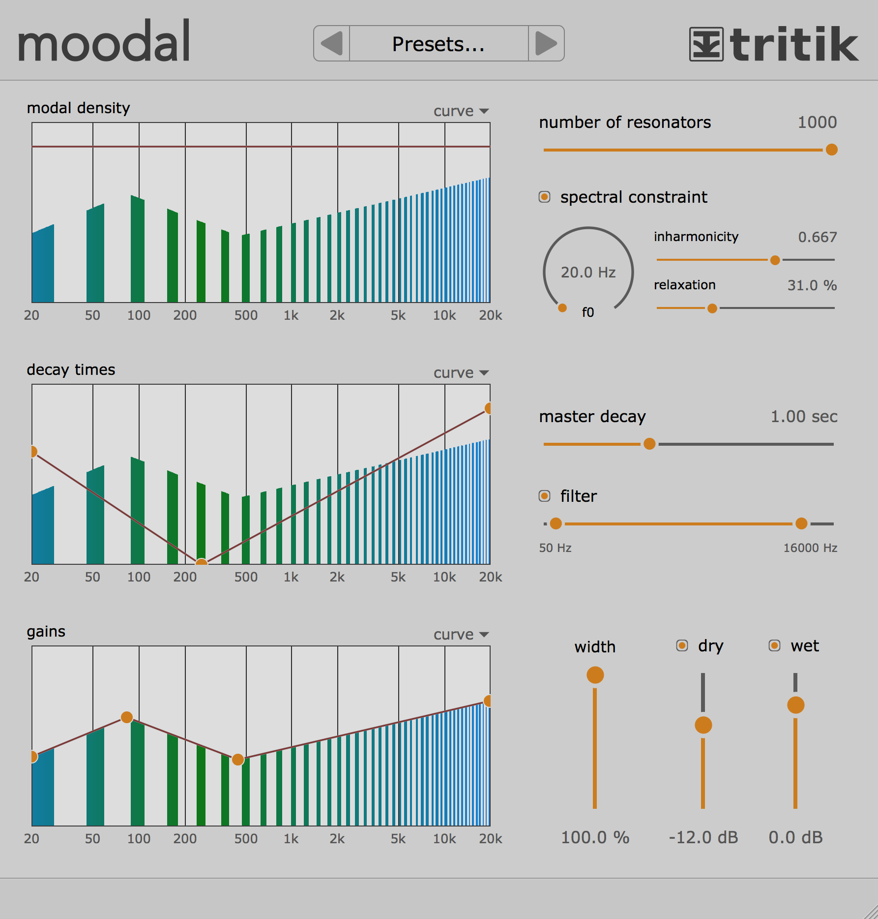 KVR: Tritik releases Moodal v1 0 for Mac & Win VST, AU & AAX