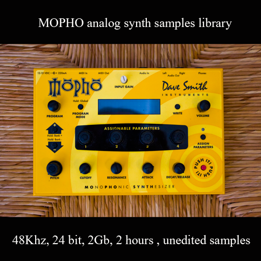 Mopho Analog synth sample library