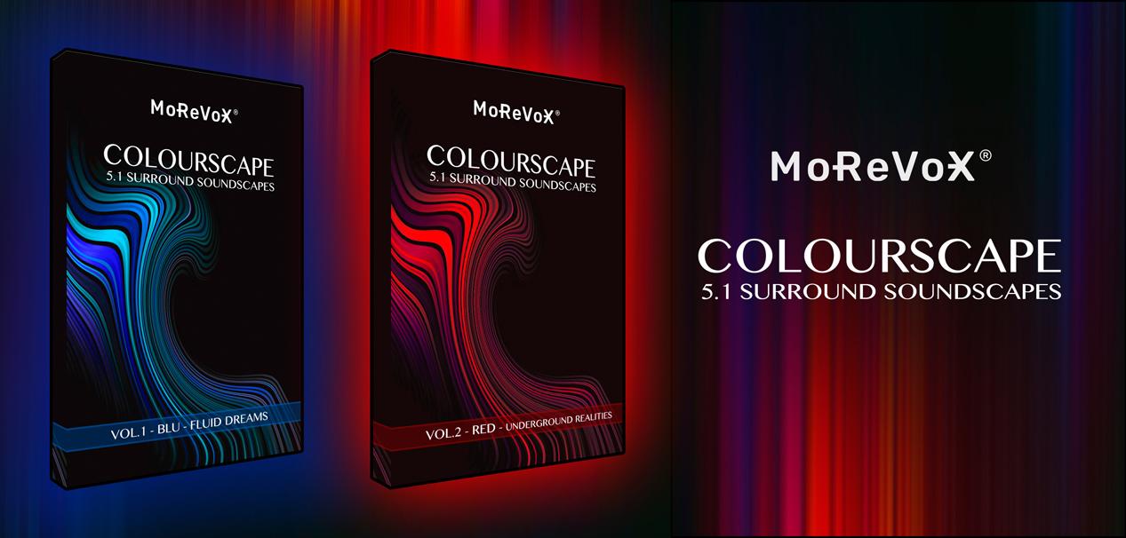 Colourscape BLU & RED