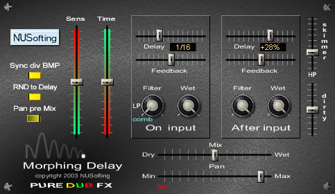 Morphing Delay