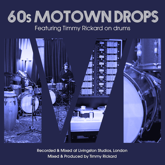KVR: Drumdrops releases 60s Motown Drops - Multi-tracks, Stems and