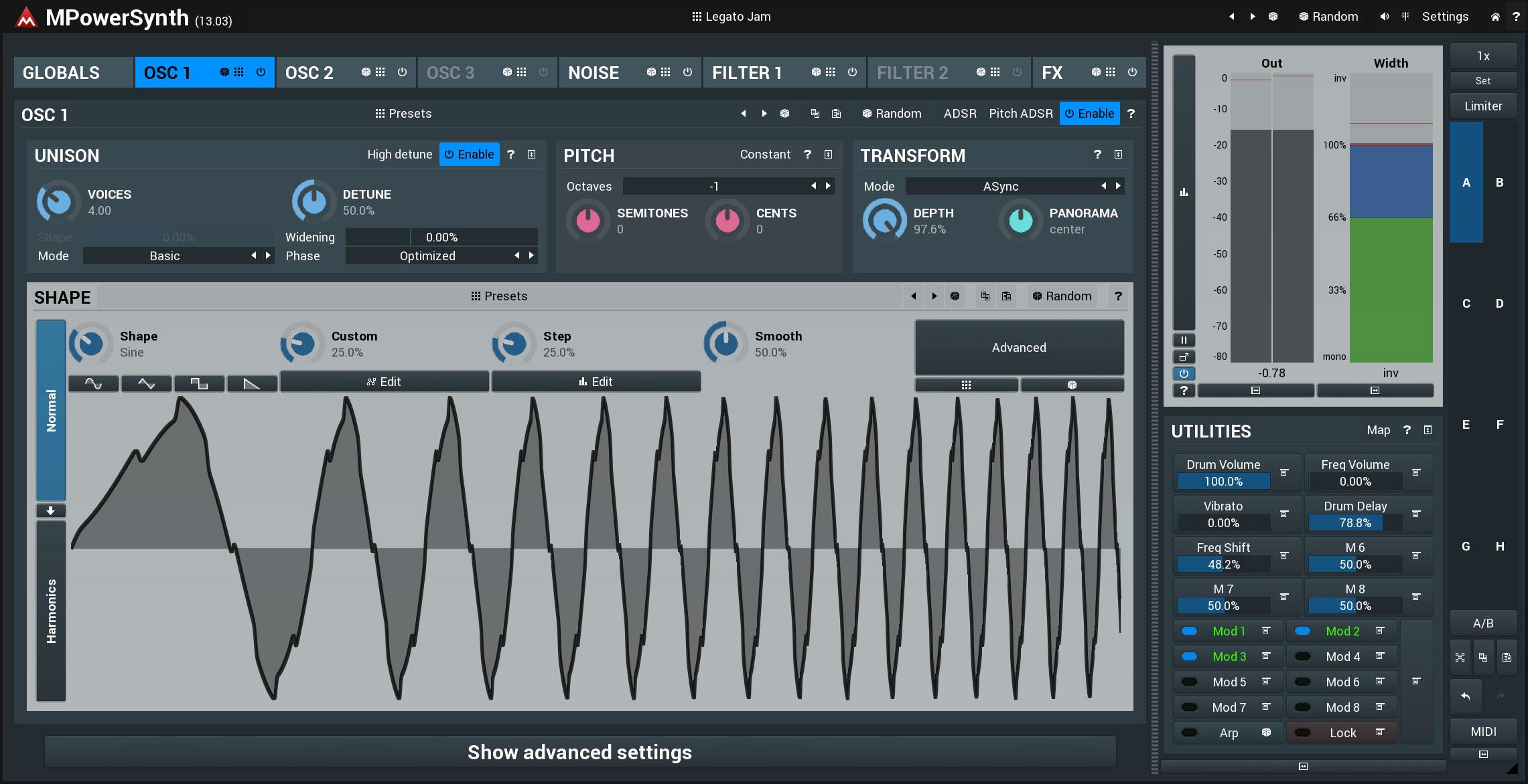KVR: MPowerSynth by MeldaProduction - Synth (Hybrid) VST Plugin