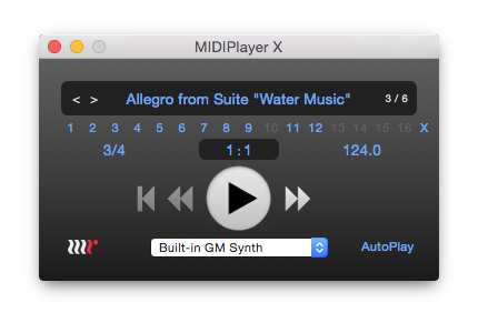MIDIPlayer X