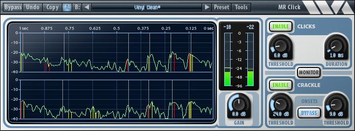 KVR: MR Click by Wave Arts - Noise Removal / Restoration VST