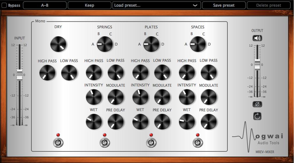 MREV-Mixer Reverb