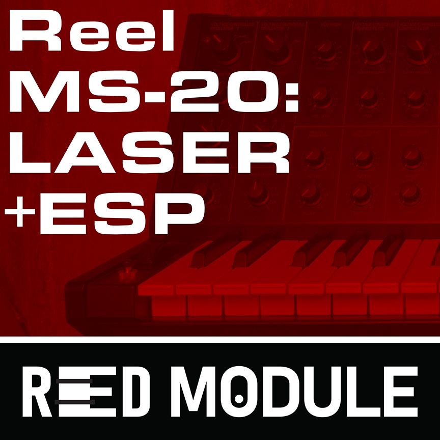 Reel Korg MS-20: LASER+ESP Bass Tape Samples