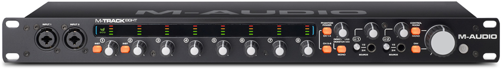 kvr m audio announces m track eight 8 channel usb audio interface. Black Bedroom Furniture Sets. Home Design Ideas