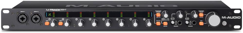 kvr m audio announces m track eight 8 channel usb audio interface. Black Bedroom Furniture Sets. Home Design Ideas
