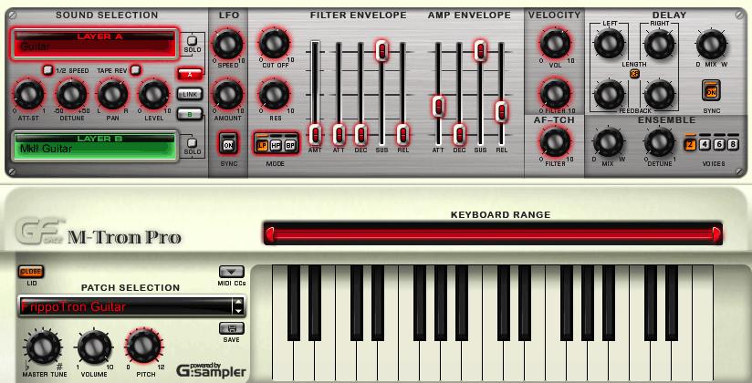 KVR: M-Tron Pro by GForce - Mellotron VST Plugin, Audio
