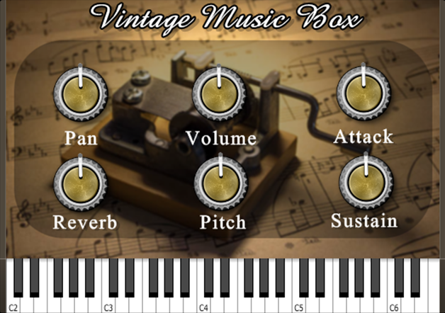 vintage music box vst free download