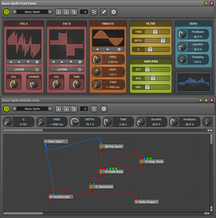 KVR: MUX Modular Plug-In by MUTOOLS - Modular Synth And