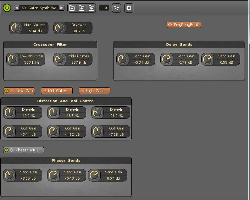 MuLab MUX Sound Library