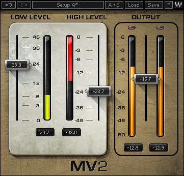 MV2 Dynamics Processor