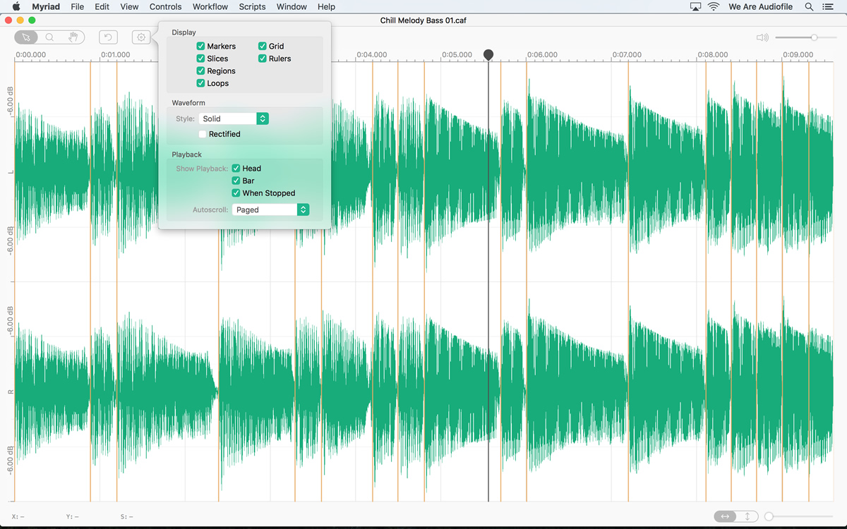 KVR: Audiofile releases Myriad Batch Processor for OS X
